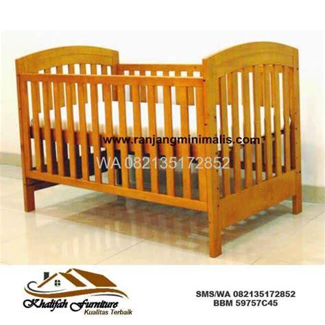 Ranjang Bayi Dari Rotan ranjang bayi kayu harga murah cv khalifah furniture