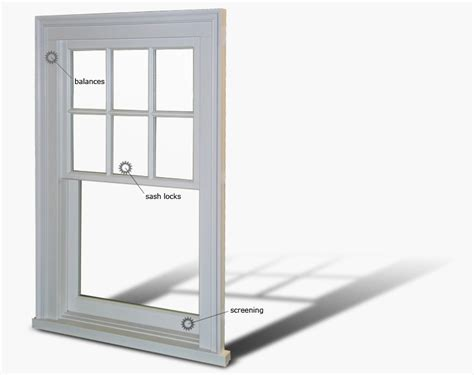 single hung window house ideals