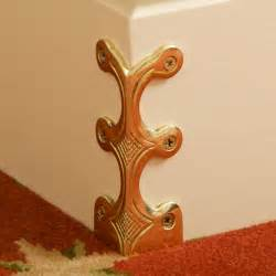 Wall Brackets For Handrails Solid Brass Corner Protectors Stair Rods