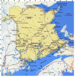 maps new brunswick canada regional maps for new brunswick canada