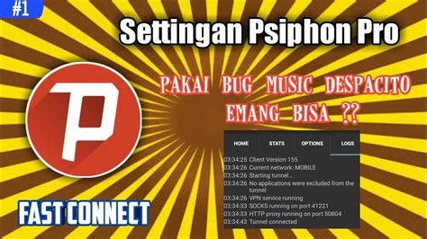 settingan psiphon pro telkomsel settingan psiphon pro fast connect speed up to 2mbps 1