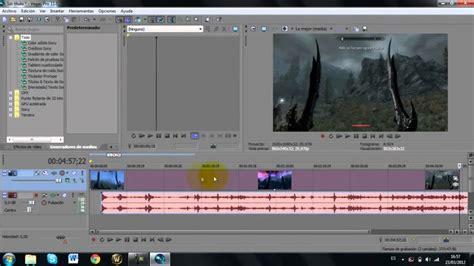 tutorial video sony vegas pro 11 tutorial sony vegas pro 11 separar el audio del v 237 deo