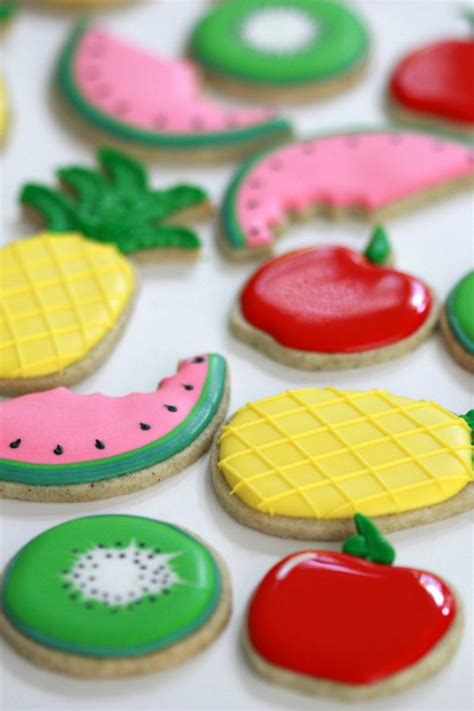 decorated cookies recipe apple strudel cut out cookie recipe and fruit decorated