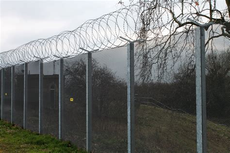 zaun s high security perimeter fencing ideal for utilities