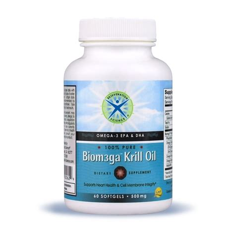 Krill And Detox by Biom3ga Krill Provides Omega 3 Epa And Dha In A