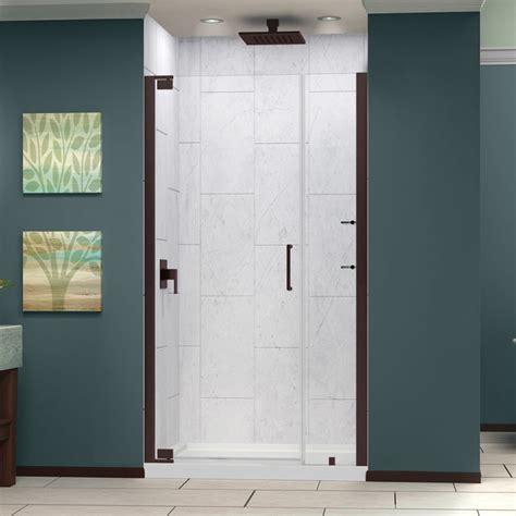 Rubbed Bronze Shower Doors by Elegance 72 Quot Pivot Shower Door Rubbed Bronze Finish