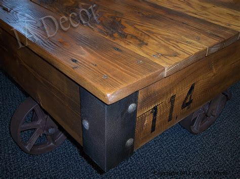 Cart Style Coffee Table Factory Cart Coffee Table Reclaimed Wood Cart Style Coffee
