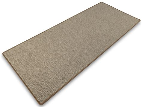 teppich sisal optik beigefarbener teppich in sisal optik stufenmatten de