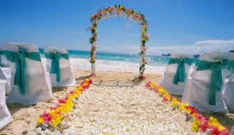 dekoration strand shawn aki wedding setup at bellows