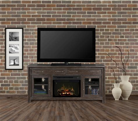 Media Electric Fireplace Set by Dimplex Woolbrook Electric Fireplace And Media Console