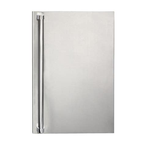 Refrigerator Door summerset stainless steel refrigerator door sleeve upgrade