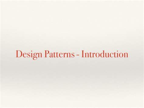 pattern in compiler compiler case study design patterns in c