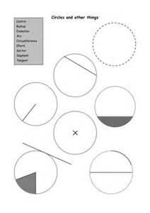 parts of a circle worksheet lesupercoin printables worksheets