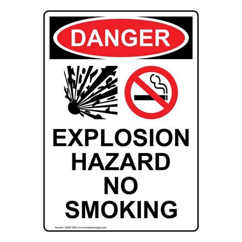 no smoking sign osha no smoking signs and labels osha danger