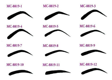 eyebrow shapes fashion belief