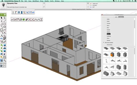 kitchen design with turbocad turbocad mac deluxe 2d 3d
