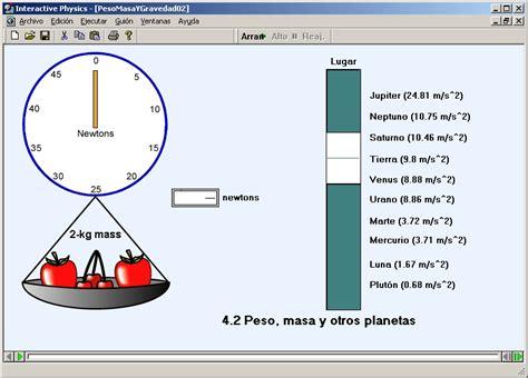 Design 2d interactive physics curriculum