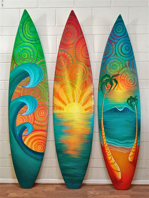Handmade Surfboards - grateful on topsy one