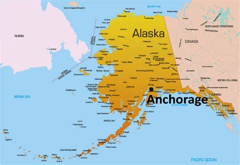 anchorage usa map most isolated cities in the world