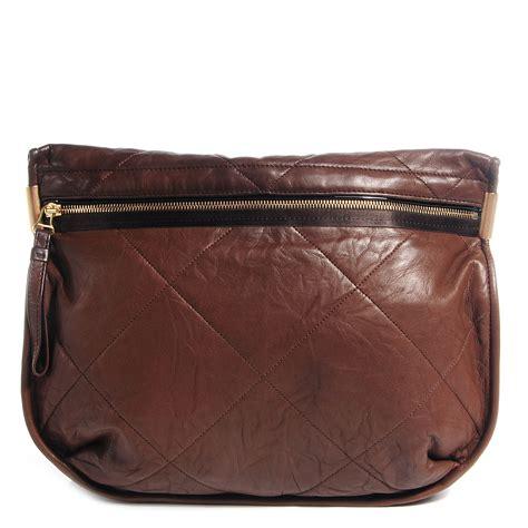 Lanvin Odeon Large Messenger Bag by Lanvin Lambskin Amalia Crossbody Bag Brown 68874