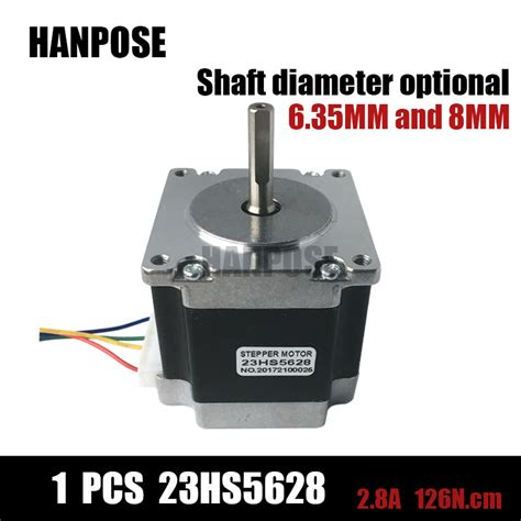 Best Quality 57 Stepper Motor Nema 23 2 Phase 2 2n M For Cnc Mesin Ai3 free shipping 23hs5628 4 lead nema 23 stepper motor 57 motor nema23 stepper motor 2 8a iso cnc