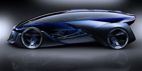 futuristic cars this chevrolet fnr concept car is science fiction made