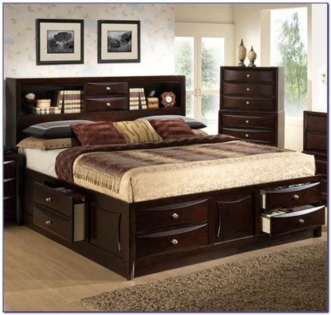 king bed with bookcase headboard king size platform bed bookcase headboard bookcase