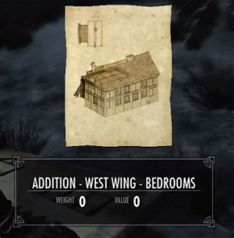 Bedroom Addition Skyrim Skyrim West Wing Bedrooms Orcz The Wiki