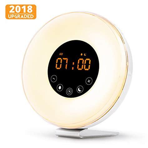 happy light alarm clock wake up light alarm clock digital sunrise alarm clock