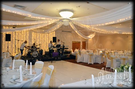 ceiling drapes for wedding wedding event ceiling drapes hertfordshire