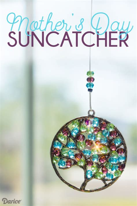 mothers day diy crafts diy s day beaded suncatcher tutorial darice