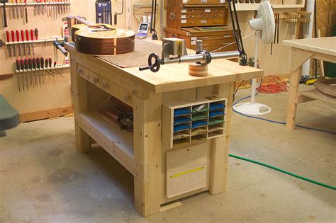 guitar work bench the luthiers workshop greg maxwell
