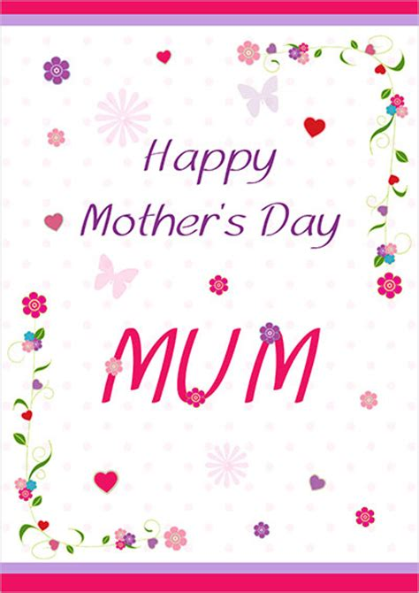 mom cards printable mothers day cards