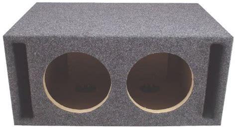 Speaker Subwoofer American Bos asc dual 10 quot subwoofer universal slot vented port sub box speaker enclosure american sound