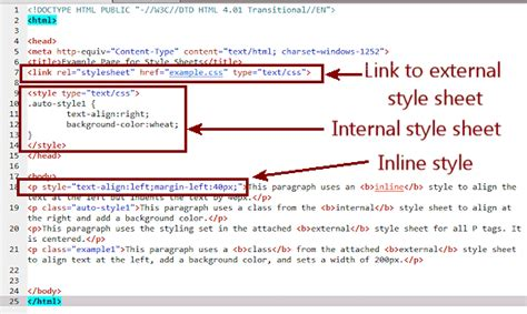 How Many Ways Can You Insert Css In Html Tcdc Print Stylesheet Template