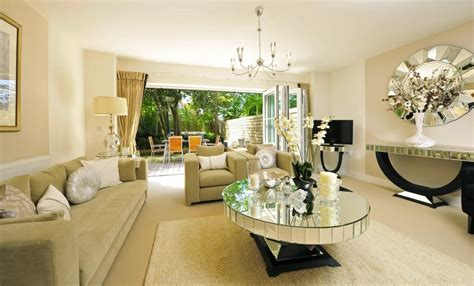 mirrored living room furniture doors to garden design ideas photos inspiration