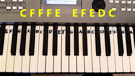 play     merry christmas easy piano keyboard tutorial beginner piano