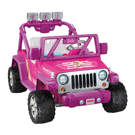 Power Wheels Jammin Jeep Wrangler Fisher Price Power Wheels Deluxe Jammin Jeep