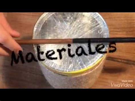 como hacer un tambor c 243 mo hacer un tambor youtube