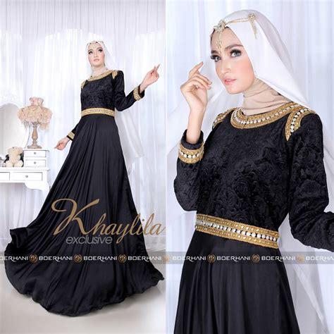 Baju Gamis Exclusive Mariam Syari 04 Kode 01 baju muslim cantik 2016 pusat busana gaun pesta muslim modern