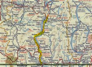 road map of columbia canada road trip time machine bc highway 97 u s border to