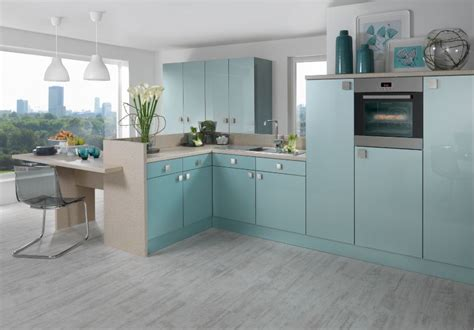 Blue Gloss Kitchen Cabinets by Fusion Blue Azure Blue Astral High Gloss Senoplas Acrylic