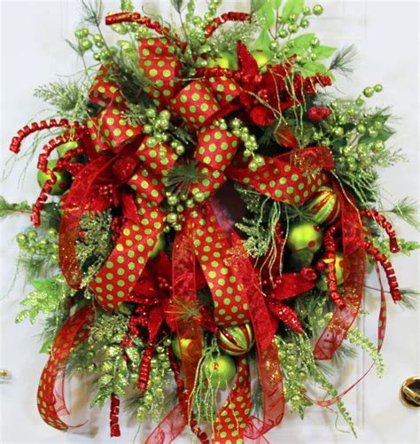 xxl gorgeous christmas outdoor or wall wreath for the