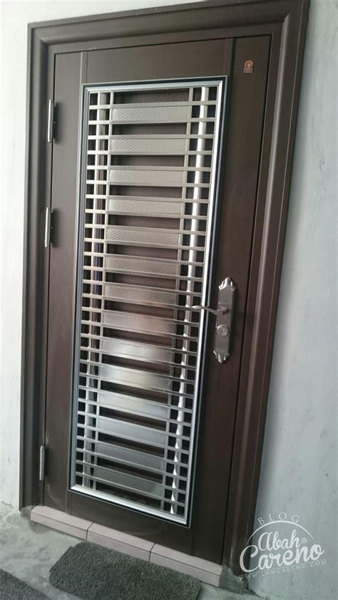 Cctv Untuk Rumah Malaysia tukar pintu jenis safety security door untuk keselamatan