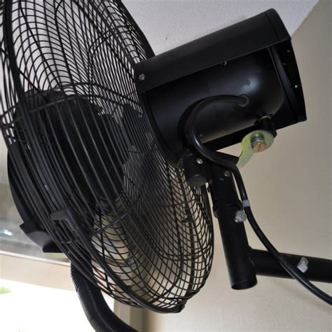 wall mount misting fan wall mounted misting fans australia indoor outdoor