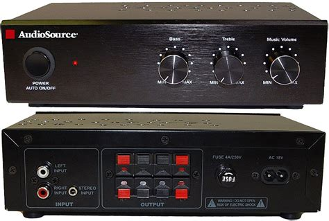 audiosource 50 stereo power lifier ca