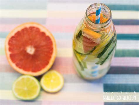 2017 Grapefruit Detox by 7 Leckere Rezepte F 252 R Selbstgemachtes Detox Wasser