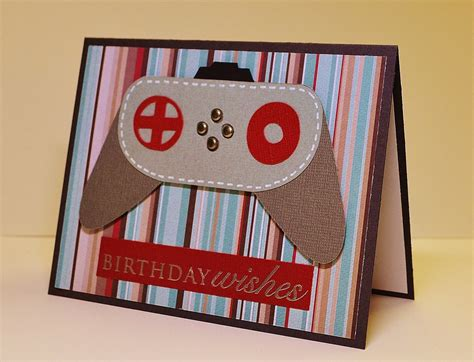Handmade Birthday Cards For Guys - masculine handmade birthday card