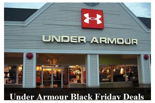 under armour shoes black friday deals