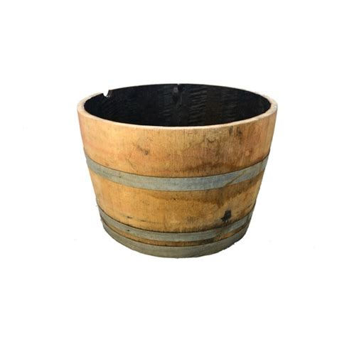 Barrel Planter Lowes by Lowes Real Wood Products 25 Quot Oak Barrel Pool And